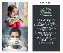 La distribution des masques débutera en début de semaine prochaine