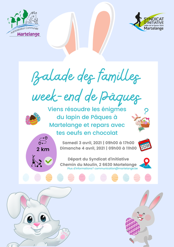 Balade des familles - Week-end de Pâques
