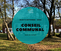Conseil communal ce jeudi soir, 18h, dans la salle du conseil