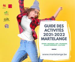 Découvrez le guide des activités 2021-2022 à Martelange !