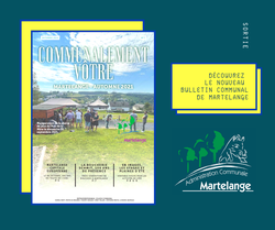 """Découvrez le nouveau bulletin communal """"Automne 2021"""""""