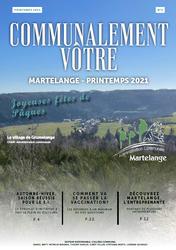 """Découvrez le nouveau bulletin communal """"Printemps 2021"""""""