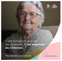 """""""Je me vaccine"""", début de la campagne """"grand public"""" cette semaine avec les +65 ans"""
