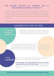 La vaccimobile à Martelange (Im Wohr) le lundi 27 septembre de 15h à 17h30