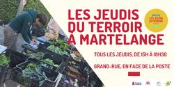 Les Jeudis du Terroir, le rendez-vous des commerçants et producteurs locaux à Martelange