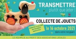 Samedi 16 octobre, participez à la collecte de jouets en bon état !