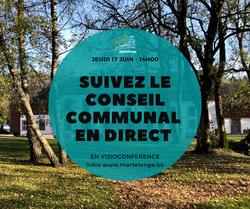 Suivez le conseil Communal en direct ce jeudi 17 juin à 14h00