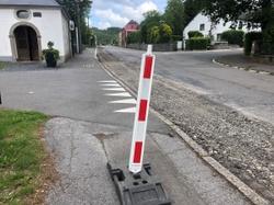 Travaux SWDE: début du chantier de renouvellement des installations de l'alimentation en eau rue de Radelange