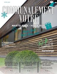 Le nouveau bulletin communal « Communalement Vôtre – Hiver 2020 » est disponible en ligne
