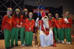 Saint-Nicolas a rendu visite aux enfants de Martelange