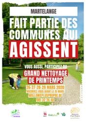 6e édition du Grand Nettoyage de Printemps: Mobilisez-vous!